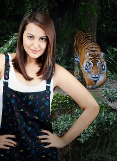 Sonakshi Sinha to be the face of Animal Planet's 2016 Where Tigers Rule campaign