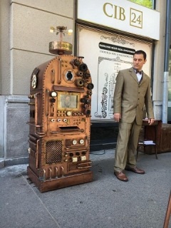 Saatchi & Saatchi Budapest and CIB Bank create 120 year-old ATM