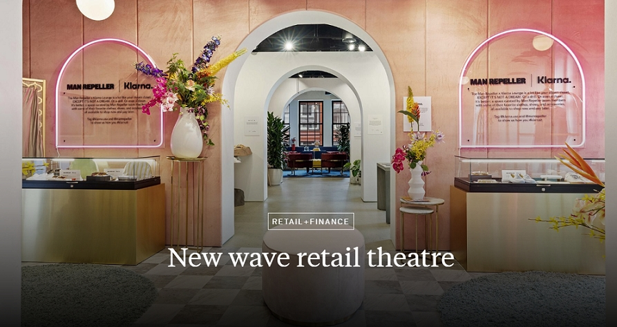 New wave retail theatre