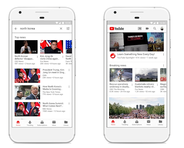 Building a better news experience on YouTube, together