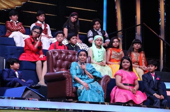 Sa Re Ga Ma Pa Li'l Champs celebrates 75 Years of the legend Asha Bhosle