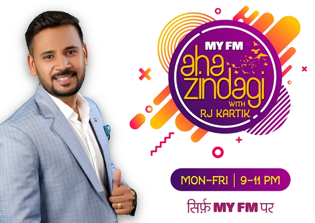 MY FM launches 'Aha Zindagi!' with RJ Kartik