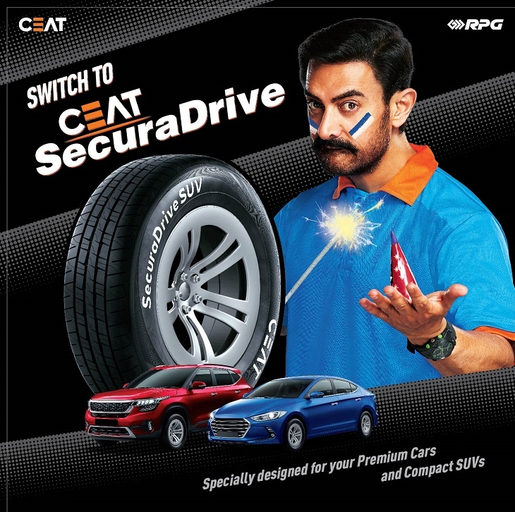 CEAT Tyres launches new Securadrive TVC with Aamir Khan