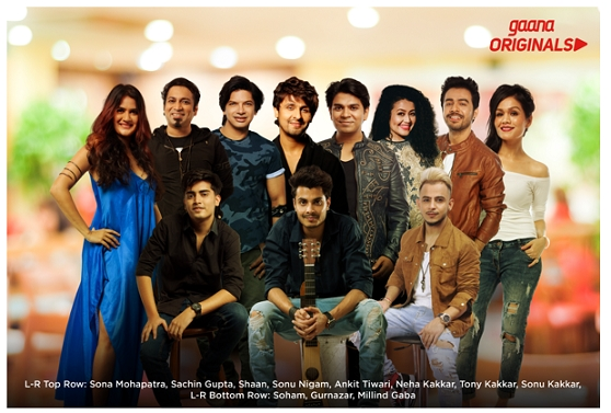 Gaana Originals crosses 20 million streams in just 5 weeks