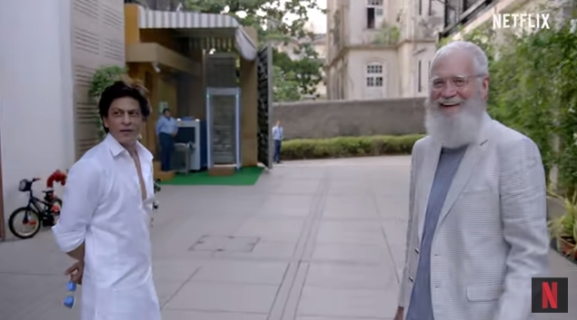 Netflix Brings Together King Khan and David Letterman