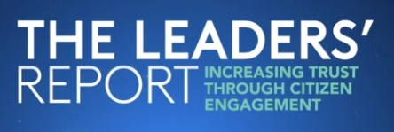 The Leaders' Report: How governments can better connect with their citizens