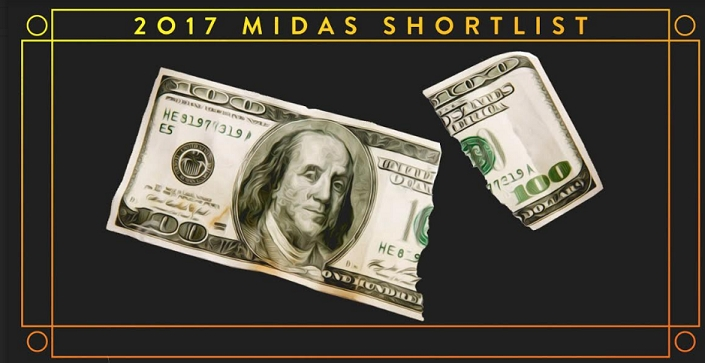 Midas Awards for The World's Best Financial Advertising Announces 2017 Shortlist