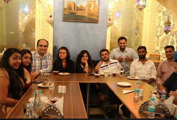 RED FM Organizes Iftaari for their few selected listeners with RJ Malishka