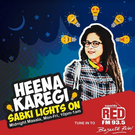 Safer cities for women with Red FM's new campaign 'Heena Karegi Sabki Lights On'