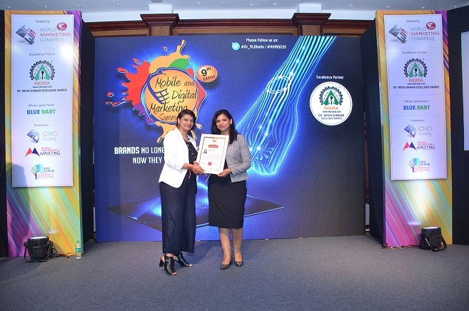 Akanksha Goyal, Brand Manager, Zee Media, nominated at Mobby's Award