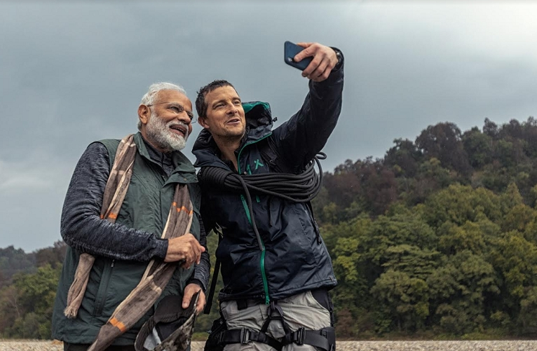 Man Vs Wild with Bear Grylls & Prime Minister Modi' emerges as the TV show of the year