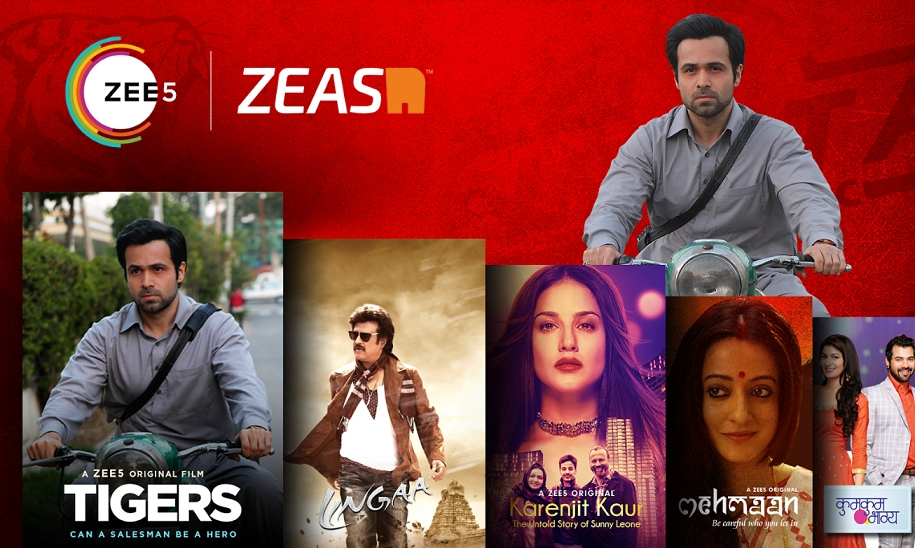 ZEE5 Announces Strategic Alliance with Zeasn