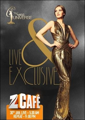 Miss Universe 2016 to air on Zee Café live from Philippines