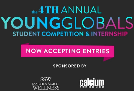 Calcium and Saatchi & Saatchi Wellness to Sponsor the 2017 New York Festivals Young Global Awards