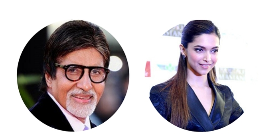 Amitabh Bachchan and Deepika Padukone are the most influential personalities of India