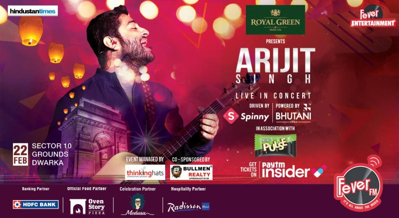 Fever FM brings Arijit Singh Live in Concert to Delhi