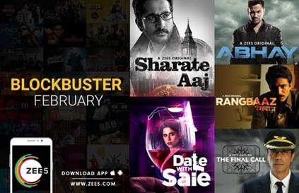 ZEE5 announces Blockbuster February