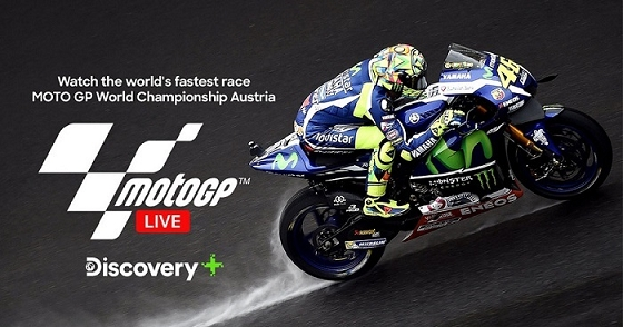 Discovery Plus to showcase MotoGP™ World ChampionshipLIVE