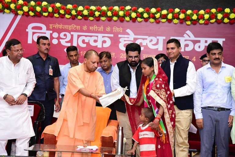 Hon'ble U.P Chief Minister, Shri Yogi Adityanath Inaugurates iTV Foundation'sTwo-day Health Checkup Camp in Maharajganj