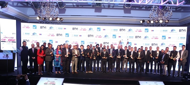 BTVI announces Winners of 'The Auto Show Car India & Bike India Awards 2018'