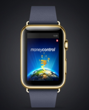 Moneycontrol launches India's first smartwatch application
