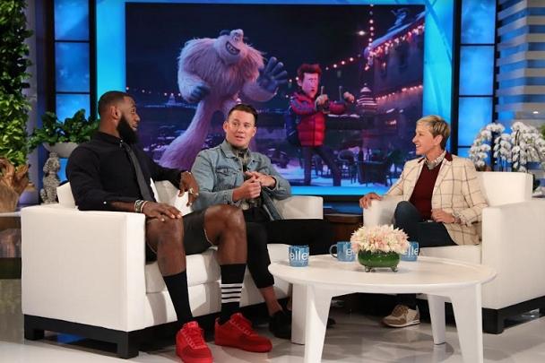 LeBron James, Channing Tatum & Naomi Osaka on The Ellen DeGeneres Show