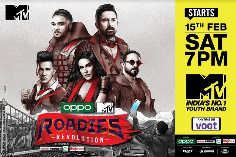 OPPO MTV Roadies Revolution to spearhead social change in its 17th season