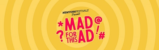 NYF's Advertising Awards Launches New Initiative: Mad For This Ad