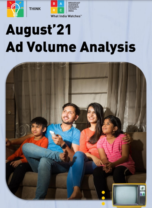 Television Ad Volumes in August 2021 Witnesses Strong Growth