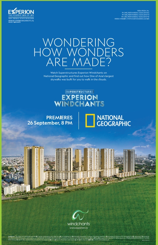 National Geographic's Superstructures series to take viewers behind the engineering of the state-of-the-art housing project