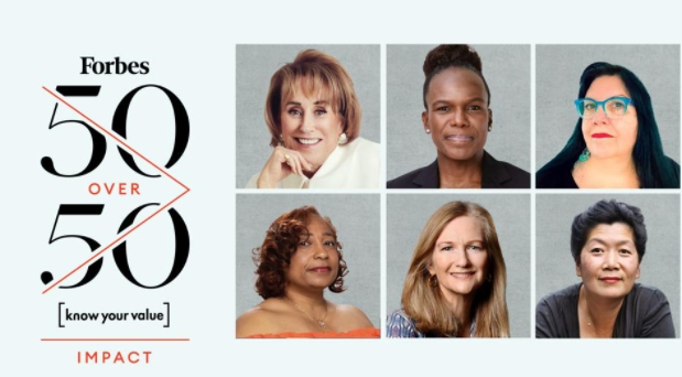 Forbes Announces Its First-Ever 50 Over 50 Impact List