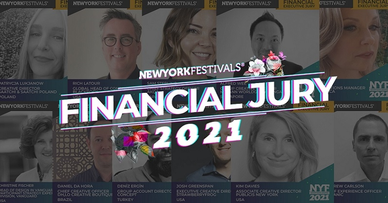 New York Festivals Advertising Awards Announces 2021 Financial Executive Jury
