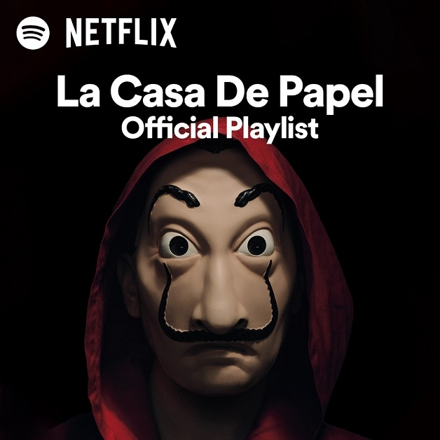 Spotify launches an exclusive Money Heist destination in collaboration with Netflix