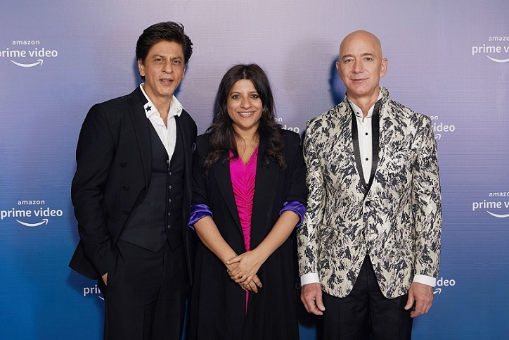 Amazon Prime Video's celebratory evening with Jeff Bezos - CEO and President, Amazon