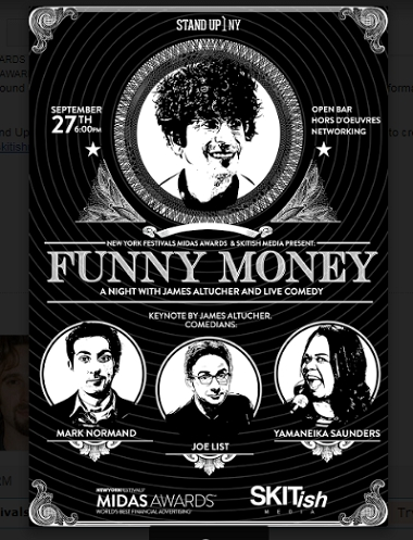 Midas Awards & Skitish Media Present Funny Money