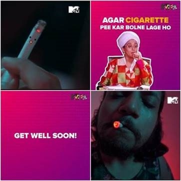 This World No Tobacco Day, MTV and MTV Beats packs a powerful punch, in style