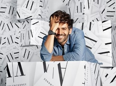 Armani Exchange appoints Kartik Aaryan as its  new brand ambassador