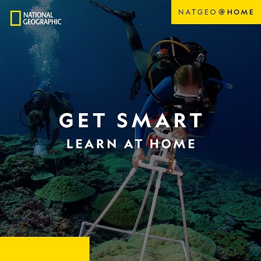 National Geographic Launches digital platform NatGeo@Home
