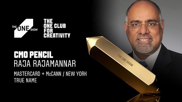 Mastercard's Raja Rajamannar Wins The One Show 2021 CMO Pencil