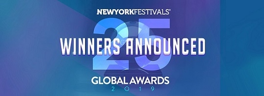 New York Festivals 2019 Global Awards Announces Winners