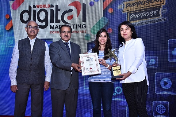 JagranJosh.com wins the Best Education Website at Global Digital Marketing Awards 2018