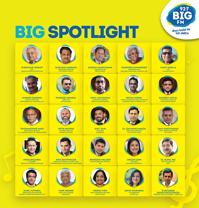 BIG FM launches interactive show 'Big SpotLight'