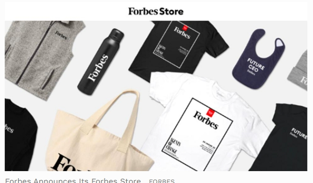 Forbes Announces The Forbes Store