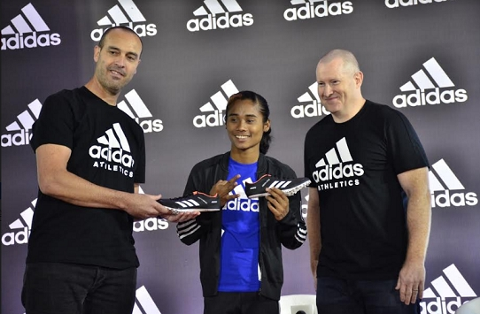 Rising Sprint Sensation Hima Das Joins Adidas