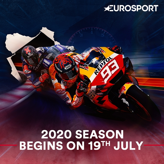 Catch 2020 FIM MotoGP™ World Championship LIVE & exclusive on Eurosport