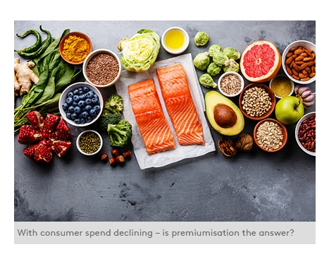 Premiumisation: The answer to declining consumer spend?