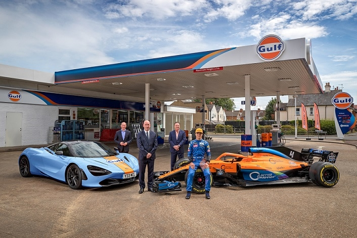Gulf Oil partners with McLaren