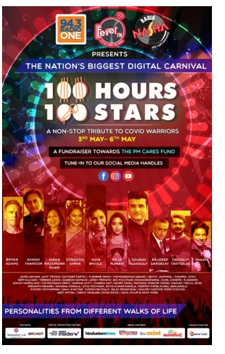 Fever Network's '100 Hours 100 Stars – Wraps up with the biggest names from the Media & Entertainment industry and India Inc