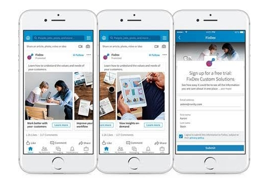 LinkedIn launches Carousel Ads