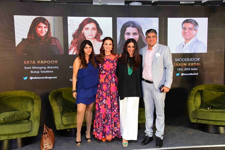 ZEE5 India and WeWork India host Changing Landscape of the Digital World